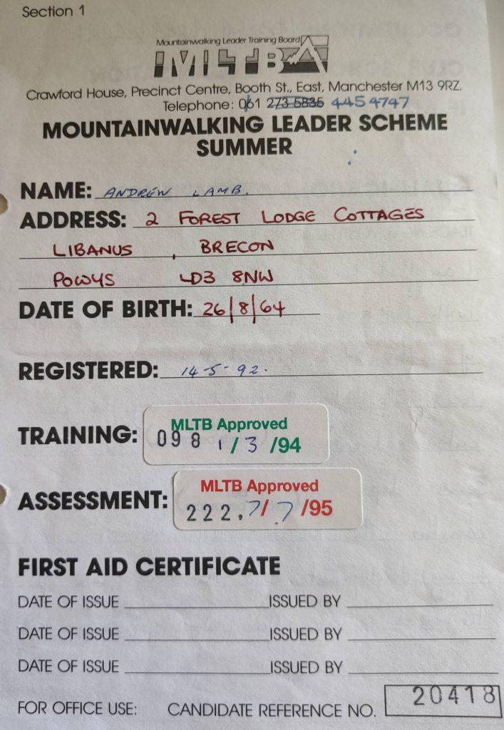 Quali – Mountain Leader